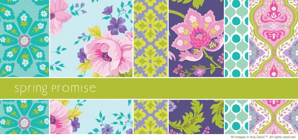 Available through Blend Fabrics, Anna Griffin's online store and your local fabric shop!