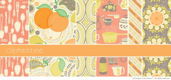 Orange Clementine3 Sampler