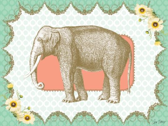 AnaDavis_Elephant_24x18WallArt