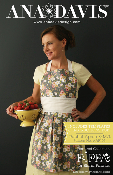 Pippa Patterns Apron Cover