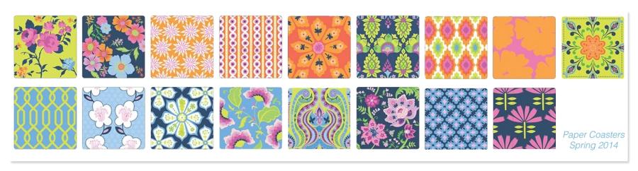 Studio M Paper Coasters