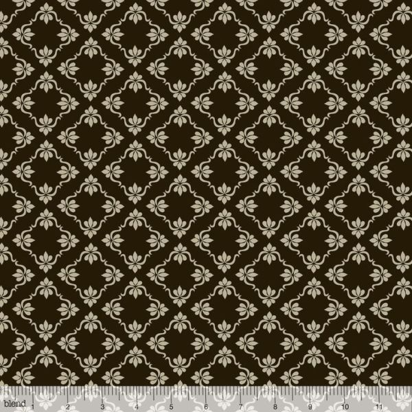 Lattice Vine Black
