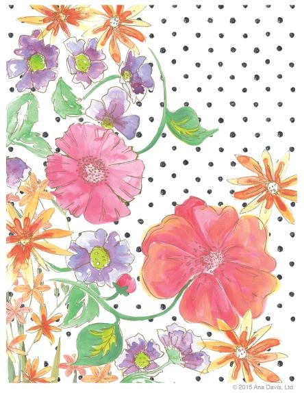 Floral Gesture Sml Dot